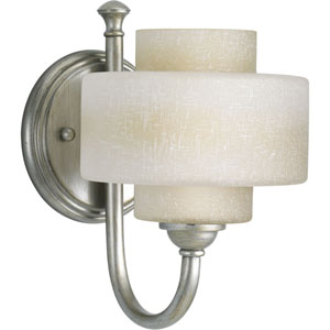 P2885-134WB:  Ashbury Silver Ridge One-Light Bath Fixture