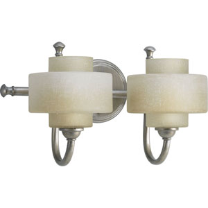 P2886-134WB:  Ashbury Silver Ridge Two-Light Bath Fixture