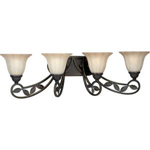 P2969-84:  Le Jardin Espresso Four-Light Bath Fixture
