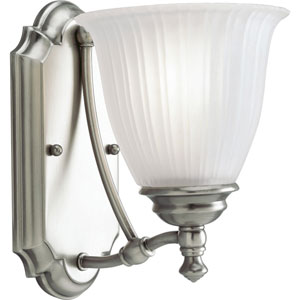 P3016-81:  Renovations Antique Nickel One-Light Bath Fixture