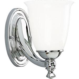 P3027-15:  Polished Chrome One-Light Bath Fixture