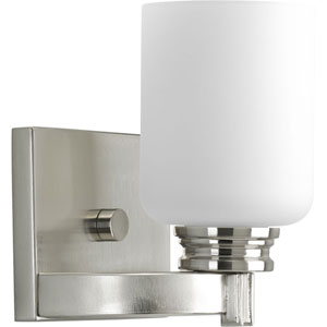 P3030-09:  Orbit Brushed Nickel One-Light Bath Fixture