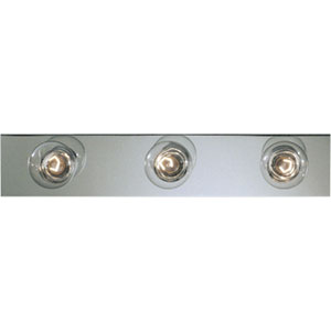 Broadway Polished Chrome Three-Light Bath Fixture