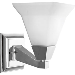 P3135-15:  Glenmont Polished Chrome One-Light Bath Fixture