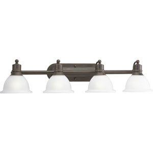 P3164-20:  Madison Antique Bronze Four-Light Bath Fixture