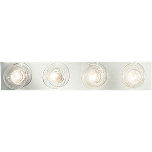 Broadway Polished Chrome Four-Light Bath Fixture