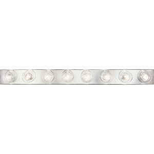 P3300-15:  Broadway Polished Chrome Eight-Light Bath Fixture