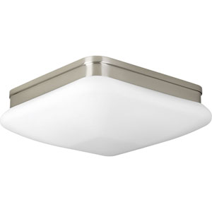 P3511-09 Appeal Brushed Nickel 11-Inch Two-Light Flush Mount