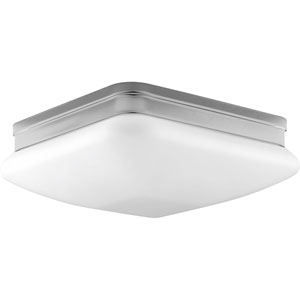 P3511-15 Appeal Polished Chrome 11-Inch Two-Light Flush Mount