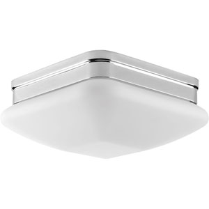 P3549-15 Appeal Polished Chrome 9-Inch Two-Light Flush Mount