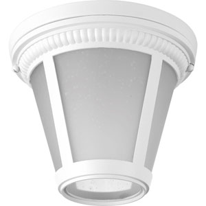 P3883-3030K9 Westport White 9-Inch One-Light Energy Star LED Flush Mount