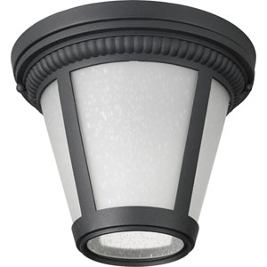 P3883-3130K9 Westport Black 9-Inch One-Light Energy Star LED Flush Mount