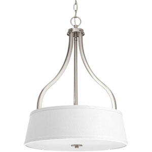 P3905-09 Arden Brushed Nickel Three-Light Pendant