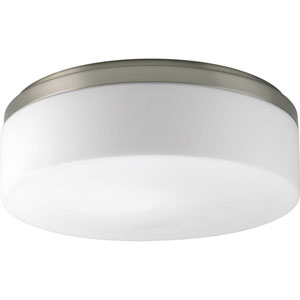 P3911-0930K9 Maier Brushed Nickel 14-Inch Two-Light LED Flush Mount