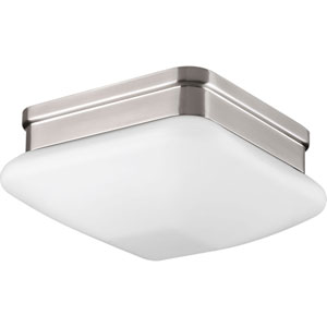 P3991-09 Appeal Brushed Nickel One-Light Flush Mount