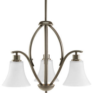P4489-20W Joy Antique Bronze Three-Light Chandelier