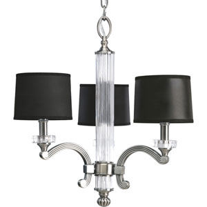 P4500-101:  Roxbury Classic Silver Three-Light Chandelier