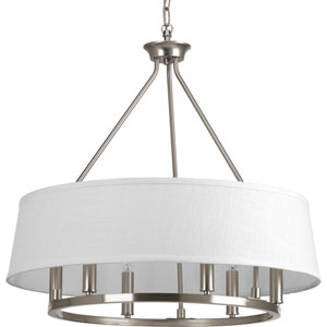 P4618-09 Cherish Brushed Nickel Six-Light Pendant