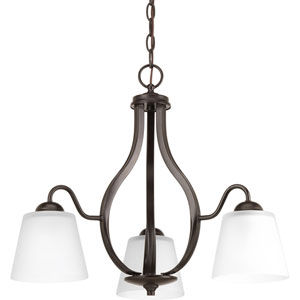 P4745-20 Arden Antique Bronze Three-Light Chandelier