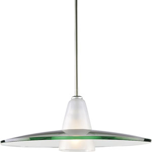 P5012-09:  Brushed Nickel Pendant
