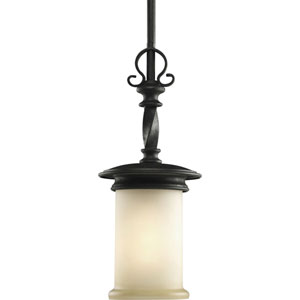 Santiago Forged Black One-Light Mini-Pendant