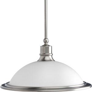 P5079-09:  Madison Brushed Nickel One-Light Pendant