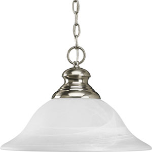 P5090-09:  Bedford Brushed Nickel One-Light Pendant