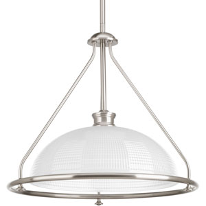 P5119-09 Lucky Brushed Nickel One-Light Pendant