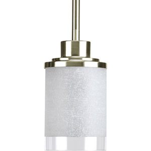 P5147-09:  Alexa Brushed Nickel One-Light Mini Pendant