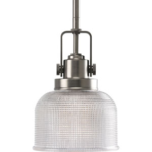 P5173-81:  Archie Antique Nickel One-Light Pendant