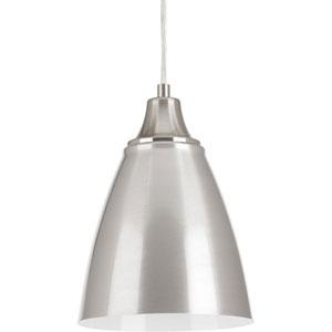 P5175-0930K9 Pure Brushed Nickel One-Light LED Mini Pendant