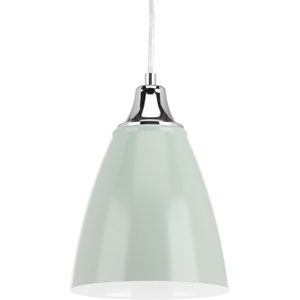 P5175-7930K9 Pure Pistachio One-Light LED Mini Pendant