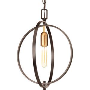 P5180-20 Swing Antique Bronze One-Light Pendant