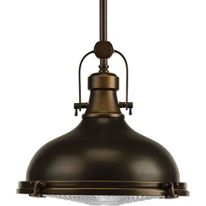 P5188-10830K9 Oil Rubbed Bronze 12-Inch One-Light Energy Star LED Pendant