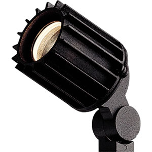 Spot Light Black One-Light 3-Inch Landscape with Clear Glass