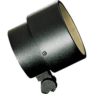 Spot Light Black One-Light 5.25-Inch Landscape with Clear Glass