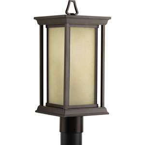 P5400-20 Endicott Antique Bronze One-Light Outdoor Post Mount