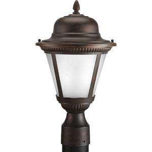 P5445-2030K9 Westport Antique Bronze 9-Inch One-Light LED Outdoor Post Lantern