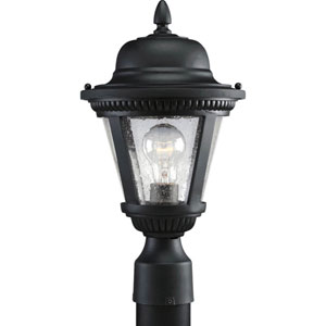 P5445-31:  Westport Black One-Light Outdoor Post Mounted Lantern
