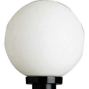 Globe Black One-Light Outdoor Post Light