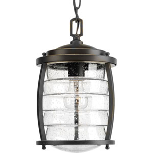 P5521-108 Signal Bay Oil Rubbed Bronze One-Light Outdoor Pendant