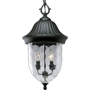P5529-31:  Coventry Black Two-Light Outdoor Pendant
