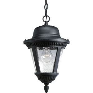 P5530-31:  Westport Black One-Light Outdoor Pendant