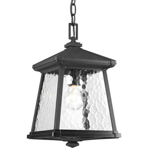 Mac Black One-Light Outdoor Pendant