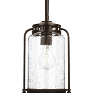 P5560-20 Botta Antique Bronze 6.5-Inch One-Light Outdoor Pendant