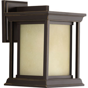 P5605-20 Endicott Antique Bronze 7.5-Inch One-Light Outdoor Wall Sconce