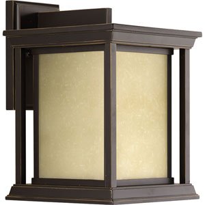 P5611-20 Endicott Antique Bronze 9-Inch One-Light Outdoor Wall Sconce