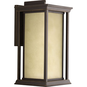 P5613-20 Endicott Antique Bronze 9-Inch One-Light Outdoor Wall Sconce