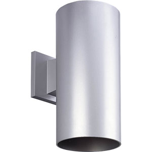 P5641-82/30K Metallic Gray 6-Inch One-Light LED Outdoor Wall Sconce
