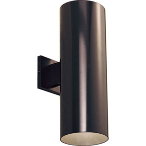 P5642-20/30K Antique Bronze 6-Inch Two-Light LED Outdoor Wall Sconce